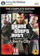 PC GTA Grand Theft Auto IV 4 Complete Edition+Episodes from Liberty City*NEU*NEW
