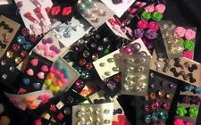 Wholesale Jewelry Lot - New Stud Earrings 100 pairs FREE SHIPPING ❤️️❤️️��❤️��