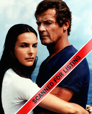 JAMES BOND For Your Eyes Only Roger Moore & Carole Bouquet 8X10 PHOTO #7691