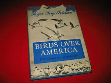 Birds Over America Roger Tory Peterson illustrated 1948 fowl wildlife nature