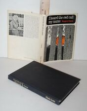 I HEARD THE OWL CALL MY NAME, MARGARET CRAVEN, First Edition, 1967, 1st. HC, DJ