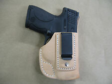 Taurus Slim 709,740 IWB Leather In The Waistband Concealed Carry Holster TAN USA
