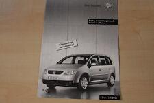 70579) VW Touran Österreich - Preise & Extras - Prospekt 07/2004