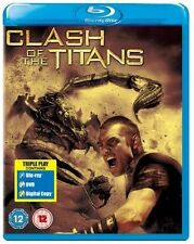 CLASH OF THE TITANS - 2010  - BLU RAY + DVD - IN STOCK