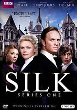 Silk: Season One (DVD, 2013, 2-Disc Set) Disc never played, ships today