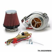 Turbo kits Mini Electric Turbo Supercharger Kit Air Filter Intake for all car