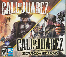 CALL OF JUAREZ 2 PACK - Original + Bound in Blood  Shooter PC Games - SEALED NEW