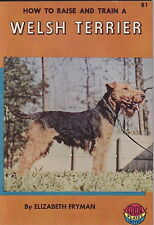 Vintage Welsh Terrier Book Welsh Terrier How To Raise
