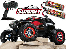 Traxxas Summit 5607 RC Truck, Maxamp 720i DUO3, Lipo Batteries, 12V Power supply