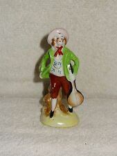 Small Man With Bango Porcelain Figurine- Made in Japan