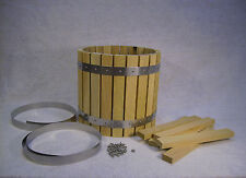 WINE FRUIT CIDER PRESS  OAK  HOPPER KIT ASSEMBLY REQD + PLANS CD