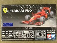 TAMIYA 1/20 FERRARI F60 PLASTIC CAR MODEL KIT  # 20059 FACTORY SEALED