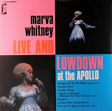MARVA WHITNEY Live And Lowdown POLYDOR RECORDS Sealed Vinyl LP