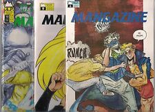 MANGAZINE LOT OF 3 - #6 #9 #10 (NM) ANTARTIC PRESS