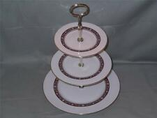 Royal Doulton Minuet 3-Tier China Hostess Cake Plate Stand