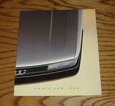 Original 1986 Audi Full Line Sales Brochure 86 Coupe GT 4000S 5000S