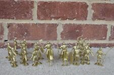 Marx Medieval Knights Robin Hood 1/32 54MM Gold Toy Soldiers Crusaders
