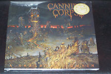 CANNIBAL CORPSE - A SKELETAL DOMAIN  GOLD VINYL 200 COPIES + POSTER