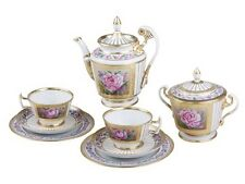 EXCLUSIVE Russian Imperial Lomonosov Porcelain Tea set Recollection 6/20 Rare
