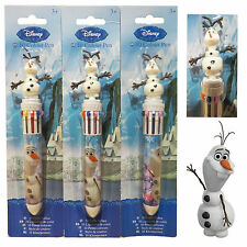 100% Official Disney Frozen Olaf 10 Colours in 1 Pen Great Gift Kids Childrens