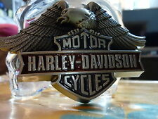 BELT BUCKLE HARLEY - DAVIDSON - MOTOR - CYCLES EAGLE PERCHED