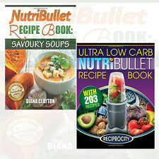 NutriBullet Diabetic Book Collection (NutriBullet Diabetic Recipe) 2 Books Set