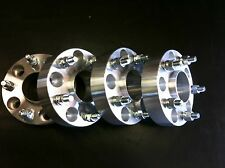 """4 Jeep Wrangler JK Rubicon Unlimited Wheel Spacers 1.5"""" Hub Centric 5x5 6061 T6"""