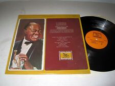 """LOUIS ARMSTRONG Louis """"Satchmo"""" Armstrong EVEREST RECORDS NM/NM- Shrink"""