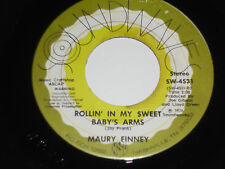 MAURY FINNEY NM Rollin' In My Sweet Baby's Arms 45 Wild Side of Life Saxophone
