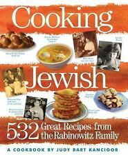 Cooking Jewish: 532 Great Recipes from the Rabinowitz Family-ExLibrary