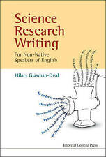 Science Research Writing For Non-Native Speakers Of English  A Guide for Non-Nat