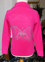 New Ice Skating Dress Fleece Jacket with Stunning Motif -Ages 7-8,9-10,11-12 &13