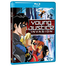 Young Justice: Invasion (BD) Blu Ray DVD