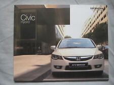 2008 HONDA CIVIC HYBRID BROCHURE PUB. NO. bez-449