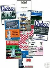 Chelsea 1970 FA Cup Winners Programme Trading Card Set
