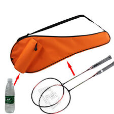 Orange Badminton Bag Shuttlecock Waterproof Racquet Sport Bottle Backpack