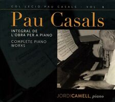 Pau Casals: Integral de l'Obra per a Piano (CD, Aug-2013, Columna Musica)