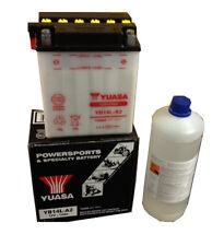 Batteria Originale Yuasa YB14L-A2 + Acido 1lt Aprilia Moto 650 95 00
