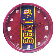 FC BARCELONA FCB ESTABLISHED WALL CLOCK SOUVENIR FOOTBALL CLUB NEW XMAS GIFT