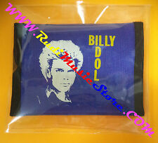 PORTAFOGLIO Wallet BILLY IDOL BLU BLUE 10x14 cm no*cd dvd lp mc vhs live