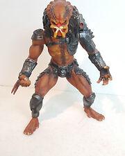 "Custom Painted 1995 Kenner 10"" Predator The Ultimate Alien Hunter Action Figure"
