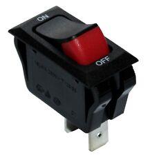 Interrupteur commutateur contacteur bouton à bascule noir SPST ON-OFF 16A/250V