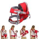 Adjust Comfort Infant Baby Carrier Newborn Kid Sling Wrap Rider Front/Backpack Q