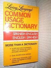 COMMON USAGE DICTIONARY SpanishEnglish English Ralph Weiman dizionario vocaboli