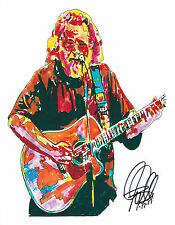 Jerry Garcia, Grateful Dead, Lead Guitar, Guitarist, Vocals, 8.5x11 PRINT w/COA3