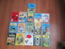 TINTIN LOT DE  16 ALBUMS EN BE/TBE lot157