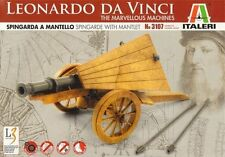 model kit Leonardo da Vinci SPINGARDA A MANTELLO Spingarde with Mantlet italeri