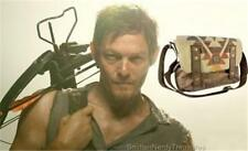 "The Walking Dead Licensed 17"" Deluxe DARYL Dixon PONCHO Inspired Messenger BAG"