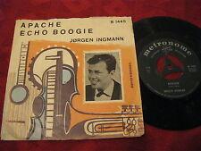 """7"""" 45rpm Rockabilly JORGEN INGMANN Apache / Echo Boogie METRONOME DK Rarität"""