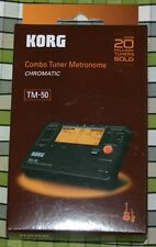 Korg TM-50 Combo Music Tuner Metronome ideal for tuning bagpipes drones chanter